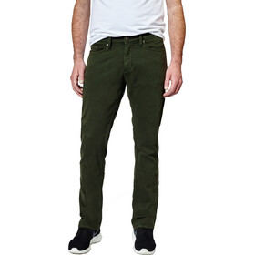 DUER No Sweat lange broek Heren Slim Fit groen